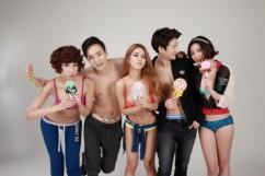 [SW포토] 청춘남녀 모델들, 상의탈의 노출 화보 '파격'