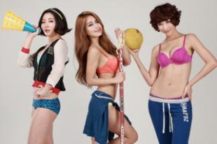 [SW포토] 레이싱모델들 '누구 속옷이 제일 예뻐?'