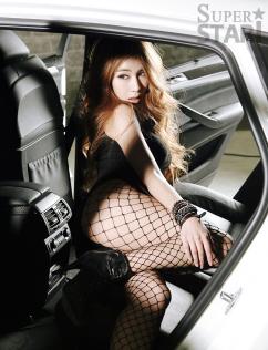 [SW포토] 박시현, 아찔 꿀벅지 '뒤태 예술'