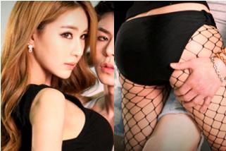 [SW포토] 박시현, 가슴·허벅지 아찔 터치