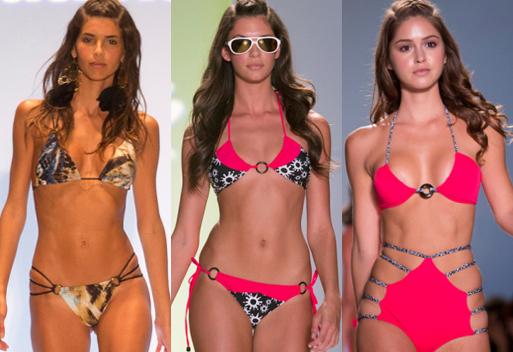 여성들의 수영복 패션쇼, 최고의 수영복은?