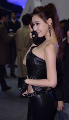 [SW포토]레이싱모델 이효영, 아름다운 몸매