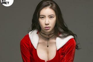 DJ 써니, 옷감이 모자랐던 산타