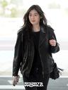 [SW포토] 배우 정은채, 시크한 블랙 의상으로 출국