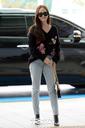 [SW포토] 가수 제시카,미소 띄우며 출국