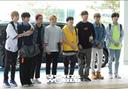 [SW포토] 그룹 유앤비, 일본 공연위해 출국