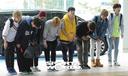[SW포토] 그룹 유앤비, 허리숙여 인사