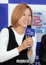 [SW포토]김미선,'교통사고 부상, 많이 좋아졌습니다'