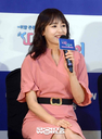 [SW포토]강성연,'따로 또 같이-남편 이런모습 처음'