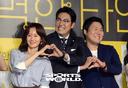 [SW포토]김지수-조진웅-윤경호,'외로울때 이들처럼'