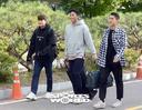 [SW포토]김민재-김승규-이용,'나란히 NFC 입소'