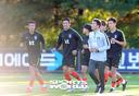 [SW포토]축구대표팀, 가을훈련