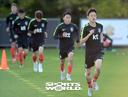 [SW포토]달려라 한국축구대표팀