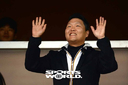 [SW포토] 싸이, '한국시리즈 관전 왔어요!'