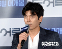 [SW포토] 배우 김성오, 영화 '도어락' 형사 역