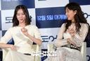 [SW포토] 공효진-김예원, 영화속 율동 재연