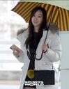 [SW포토] 배우 다솜, 우산속 따듯한 미소