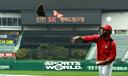 [SW포토]SK 산체스,'글러브 던지며 우중 여유'