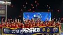 [SW포토] SK 와이번스,2018 프로야구 한국시리즈 우승