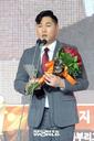 [SW포토]넥센 임지열,'퓨처스 북부 타율상, 타점상 수상'