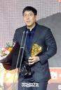 [SW포토]2018 KBO리그 타율상은 LG 김현수