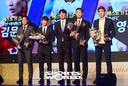 [SW포토]부산 아이파크 김문환-성남FC 서보민-성남FC 윤영선-아산 무궁화 이한샘
