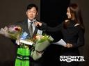 [SW포토] KIA 안치홍, 조아바이톤상 수상