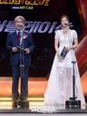 [SW포토]KBO 정운찬 총재와 배우 박하나