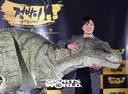[Sw포토]박희순,'공룡 점박이와 함께'