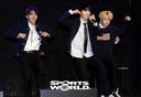 [SW포토]  강화도 아이돌 몬트, 'GOING UP' 쇼케이스