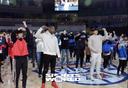[SW포토] 스트레칭하는 올스타와 팬들