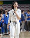 [SW포토] 치어리더 박기량, 농구 올스타 미니올림픽 진행