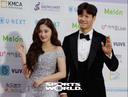 [SW포토] 김종국-낸시, 밝은 미소로 화답