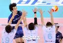 [SW포토]한국전력 서재덕,'그냥 물러서지는 않는다'