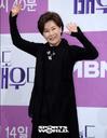 [SW포토] 배우 박정수, 밝은 모습으로 손인사