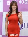 [SW포토] 배우 정영주, 강렬한 레드컬러