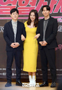 [SW포토]김성균-이하늬-김남길,'열혈사제 3인방'