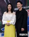 [SW포토] 배우 박세영-김동욱, 밝은 웃음으로 포즈