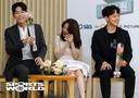 [SW포토] 배우 방민아, 최성현의 포즈에 웃음 폭발
