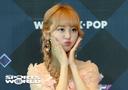 [SW포토] 가수 엔시아, 꽃받침 미모