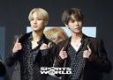 [SW포토]위 아 슈퍼휴먼, NCT127 정우-도영
