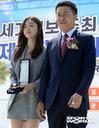 [SW포토] 배우 한선화, 세계드론낚시대회 홍보대사