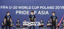 [SW포토]박태준-정호진-이강인,'늠름한 축구 U-20 대표'