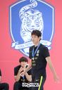 [SW포토]자랑스러운 축구U-20 대표 오세훈