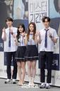 [SW포토]이준영-한소은-김명지-최규진, '학생 4인방'