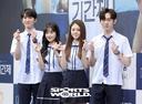 [SW포토]이준영-한소은-김명지-최규진,'괴물 신예들'