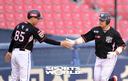 [SW포토]윤석민,'홈런은 홈런으로'