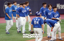 [SW포토]아쉬워하는 삼성 선수들