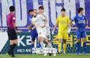 [SW포토]선취골 성공시킨 성남 FC 임채민