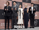 [SW포토]정경호-박성웅-이설-이엘-송강,'사랑합니다'